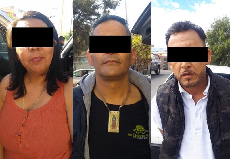 Cinco Distribuidores Capturados por la Estatal, Entre Ellos dos Mujeres