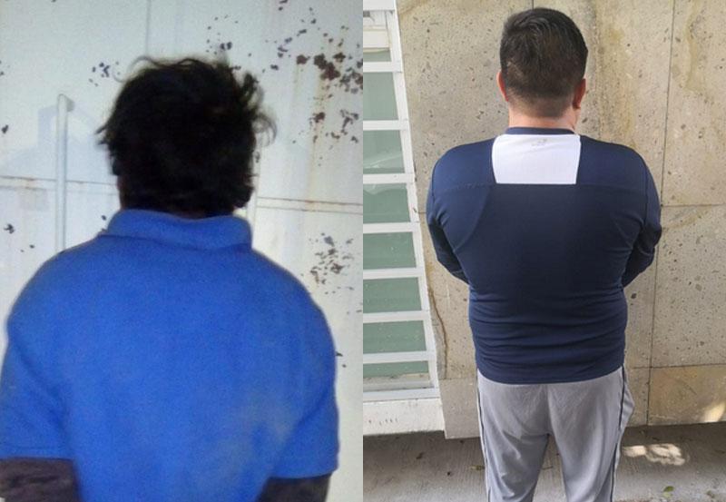 David y Luis Quien Aparte es Taxista, Fueron Detenidos por Venta de Droga