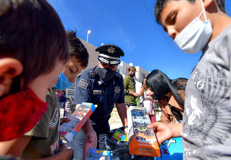 SSPM Regalan Juguetes a Niñas y Niños de la Ciudad