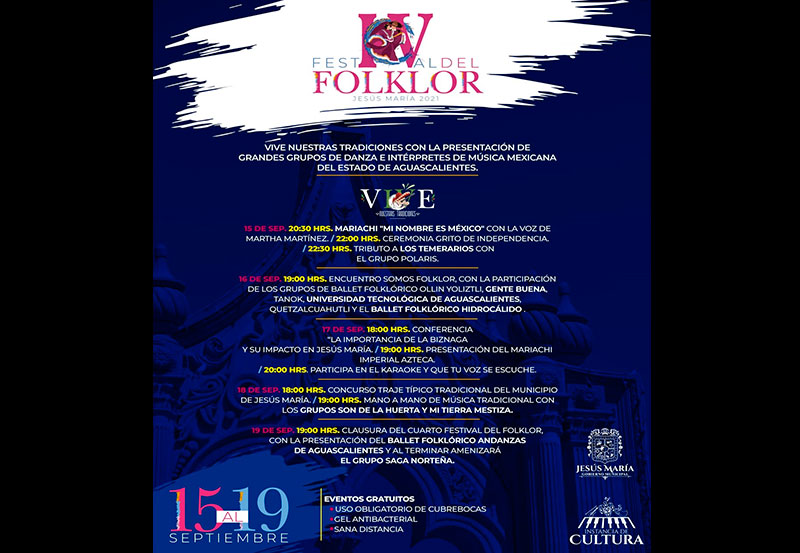 JM Realizará el IV Festival del Folklor