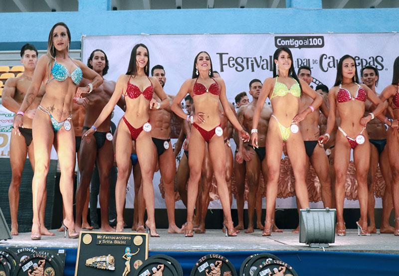 Inauguran Mr. Aguascalientes y Srita. Fitness Aguascalientes 2021.